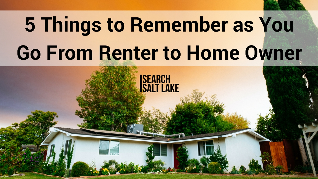 renter to home owner - search salt lake