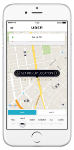 Driving for Uber app screenshot