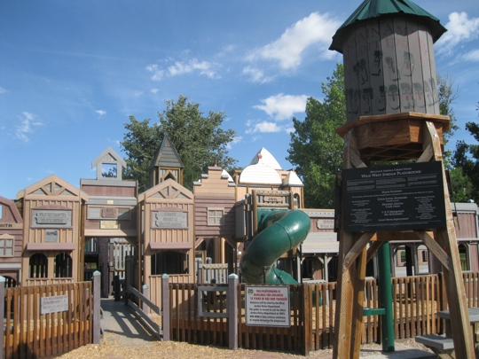 Wild West Park at Veterans Memorial Park in West Jordan